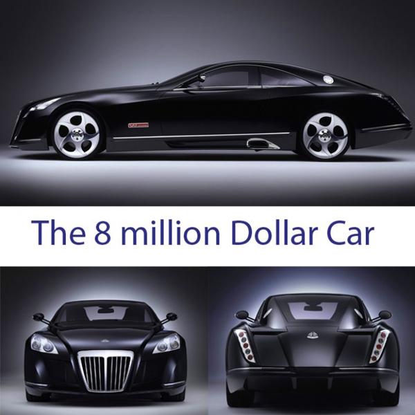 Maybach 8 million dollar car
