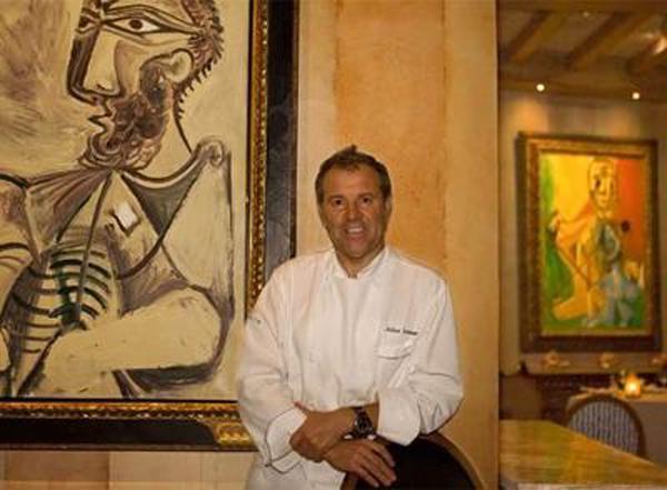 Julian Serrano con Picasso de 15 millones $
