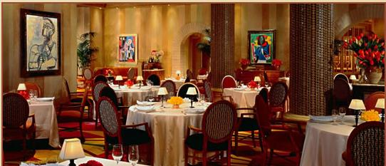 Las-Vegas-Five-Diamond Restaurant-Picasso-at-Bellagio