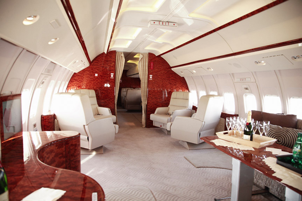 Beoing 737-VIP interior