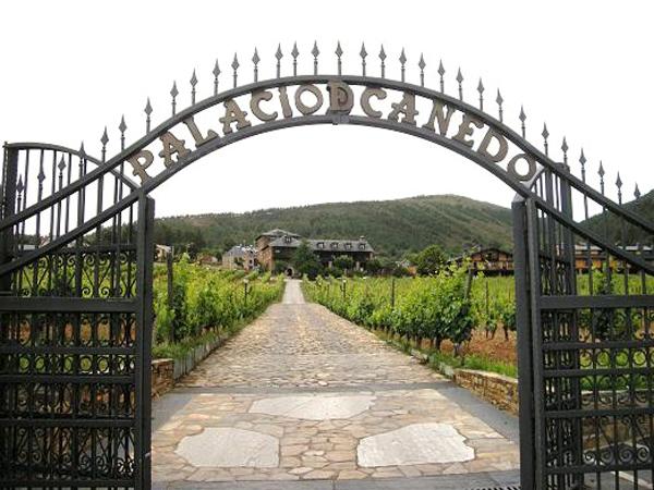 Palacio Canedo entrada