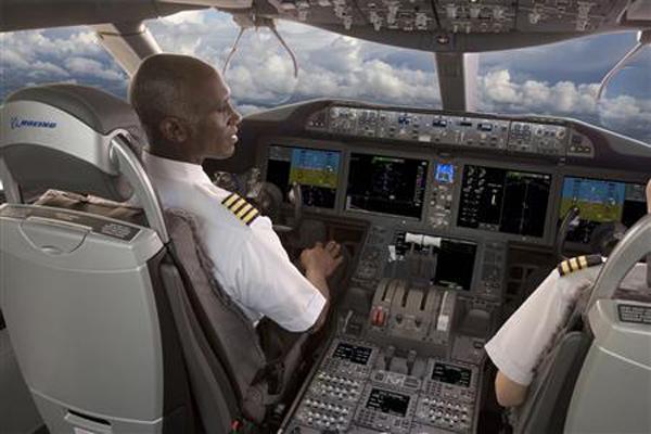 cabina boing 737