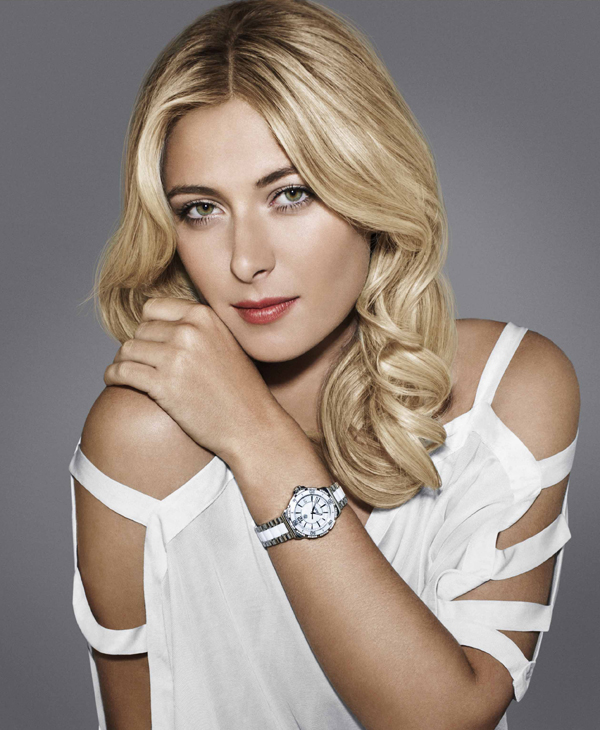 MSharapova_TAG-Heuer-Formula-1-Watch-White-Ceramic-WAH1213