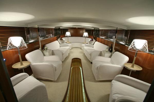 Megayate a hamilton de dise o nico estilos de vida for Interior yates de lujo