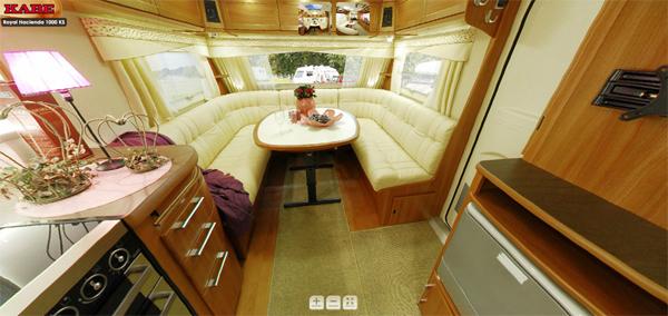Caravana kabe toda una hacienda sobre ruedas estilos de - Interior caravanas decoracion fotos ...