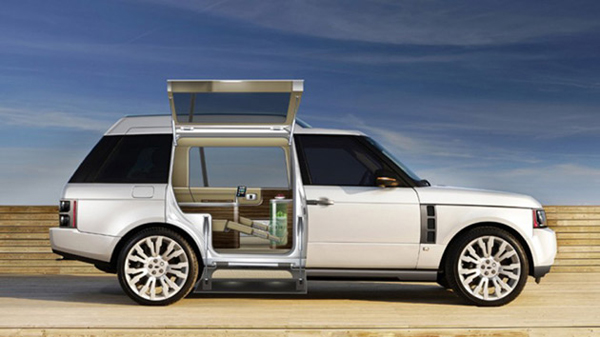 range rover mini spa