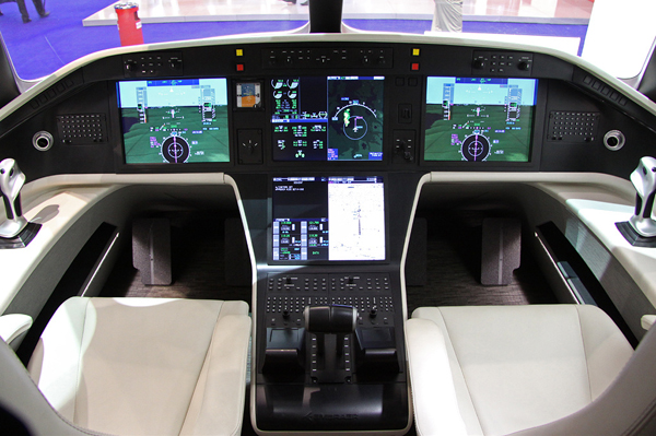cabina simulator embraer 500