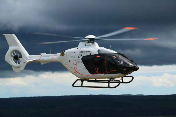 """EUROCOPTER / EC135,"""" L'Helicoptere of Hermes"""", Daunoworth."""