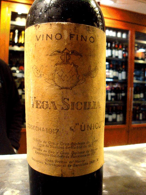 cosecha 1917 vega sicilia