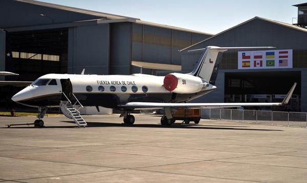 G-IV_Gulfstream,_Chilean_Air_Force_(FACh)