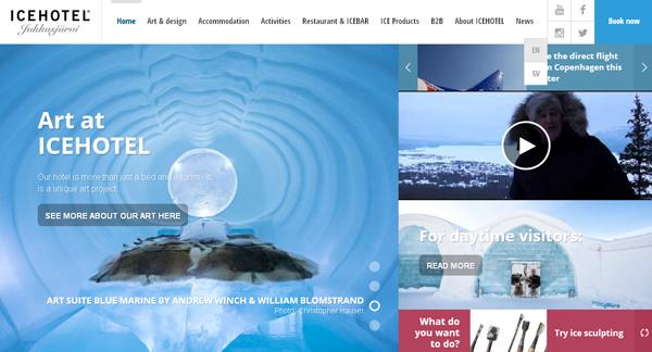 Icehotel, lujo en el hermoso y efímero hielo