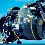 Retro-futurismo en la nueva Lotus C-01