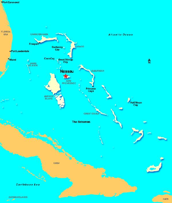 nassau mapa