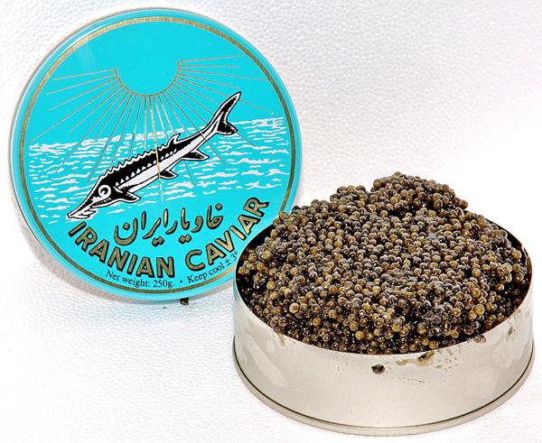 caviar irani