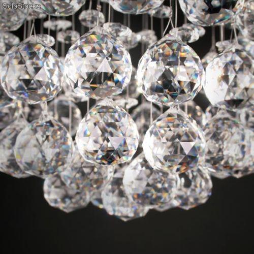Lamparas lampara de arana colgante cristal tallado - Colgantes de cristal para lamparas ...