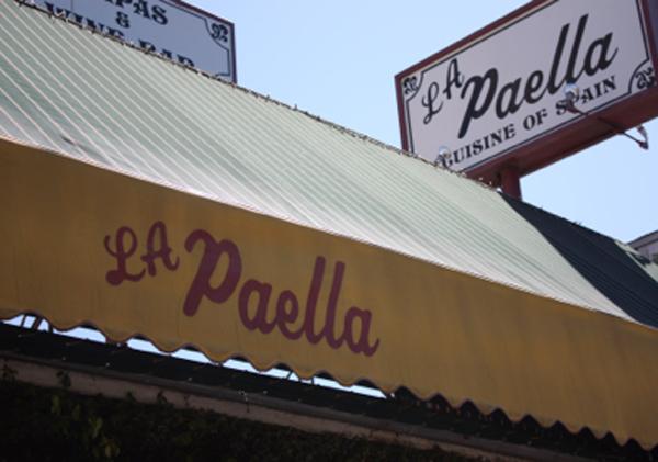 restaurant la paella presentacion