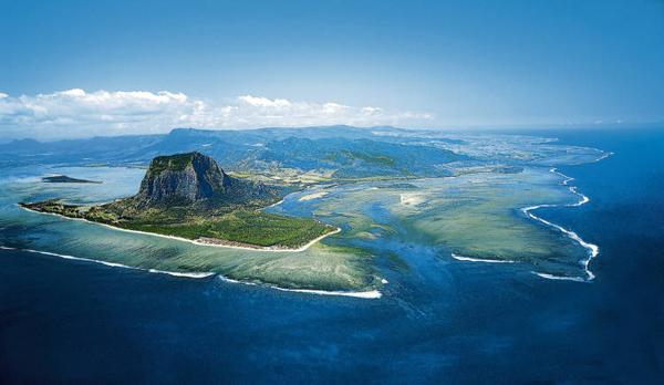 vista-aerea isla mauricio