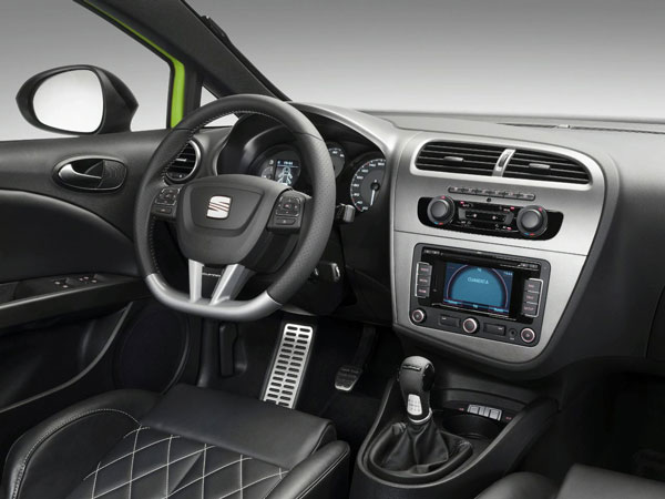 2014 SEAT Leon CUPRA Interior Estilos De Vida Estilos
