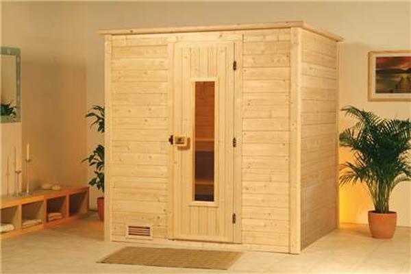 sauna madera
