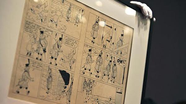 Record para Tintín en una subasta de comics