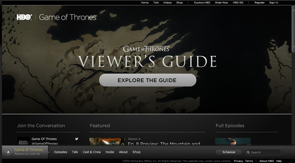 HBO guide