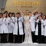 Exposición web y desfile para el 50 aniversario de Pronovias