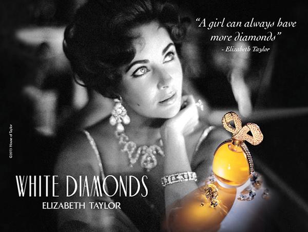 White Diamonds Elisabeth Taylor