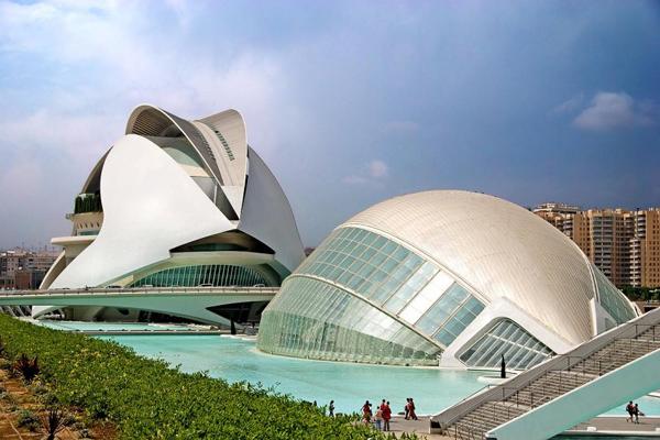 ciudad artes y ciencias valencia