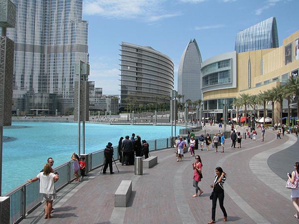 Dubai Downtow Walk Estilos De Vida Estilos De Vida