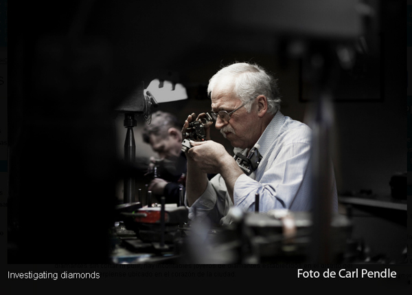 investigando diamantes