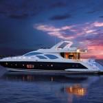 Navegar con el Azimut 100 Leonardo
