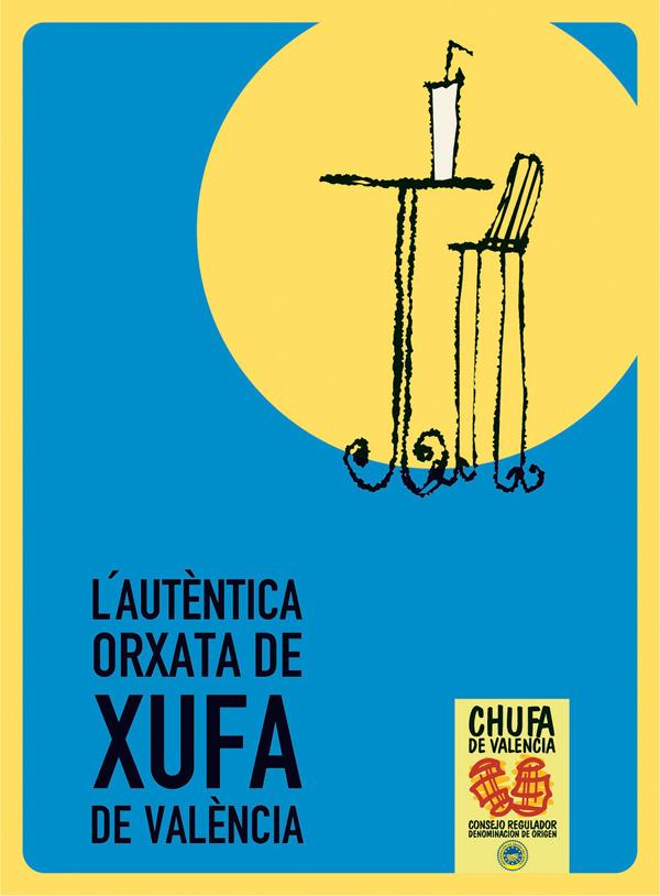 cartel DO horchata valencia