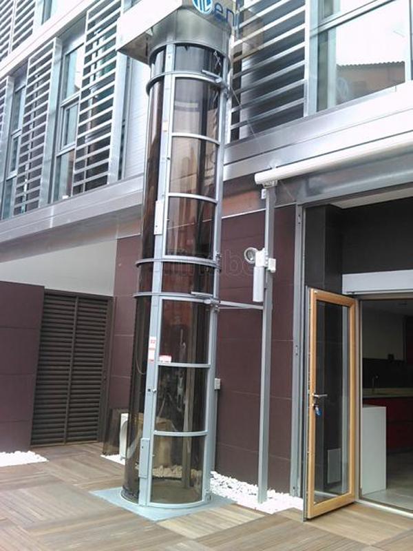 Ascensor neum tico exterior estilos de vida estilos de for Sillas ascensores para escaleras precios