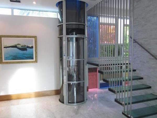 ascensor de vacio