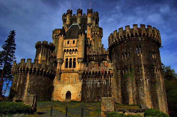 castillo butron vizcaya