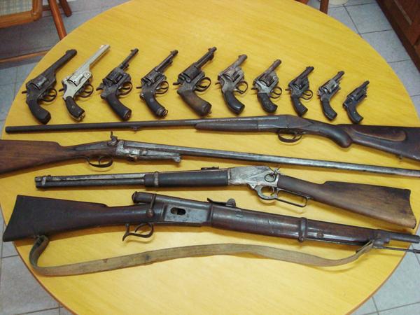 Colecciones De Armas De Fuego Antiguas Estilos De Vida