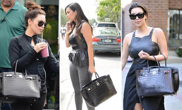 Kim Kardashian Crocodile Birkin Estilos De Vida