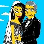 La boda de Clooney por Alexsandro Palombo