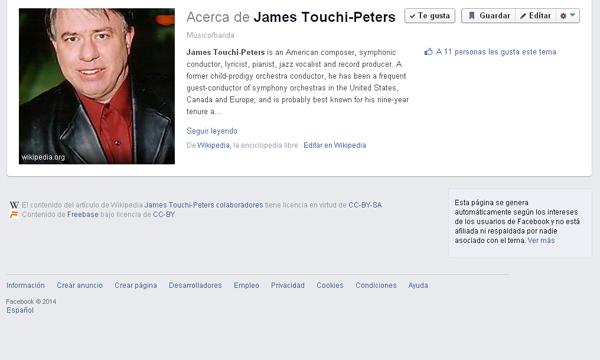 james touchi fb page