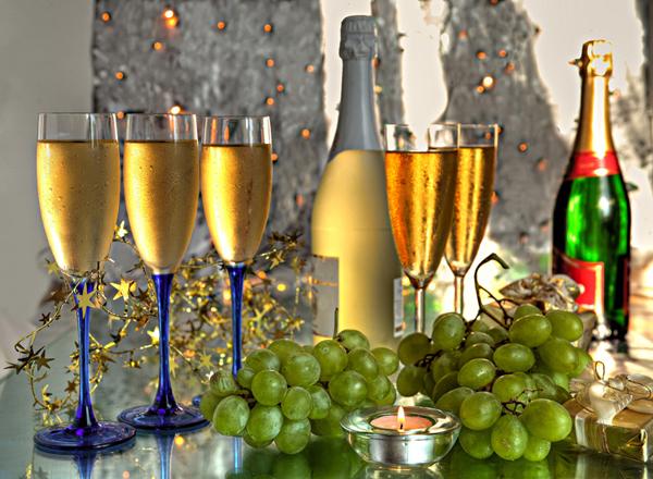 _champan_uvas