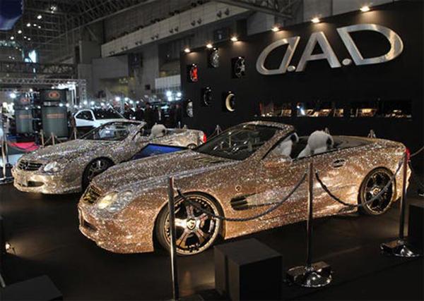 expo mercedes cabrio swarorvski
