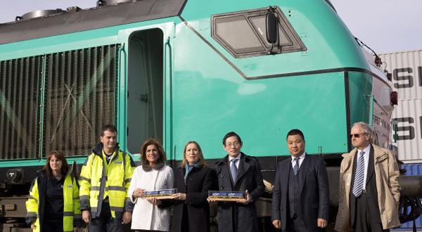 tren yixinou llega madrid