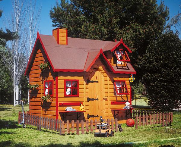 Casas de lujo para las mascotas estilos de vida for Casa infantil jardin