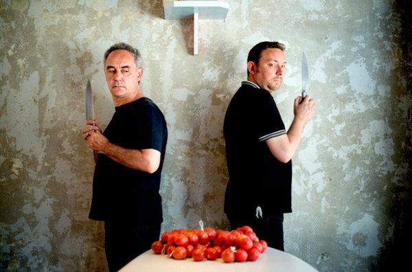 Los Adriá combinarán arte y música con su cocina