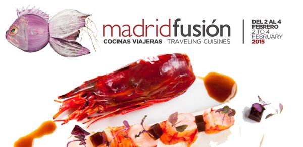 Exhibición gastronómica en Madrid-Fusión 2015