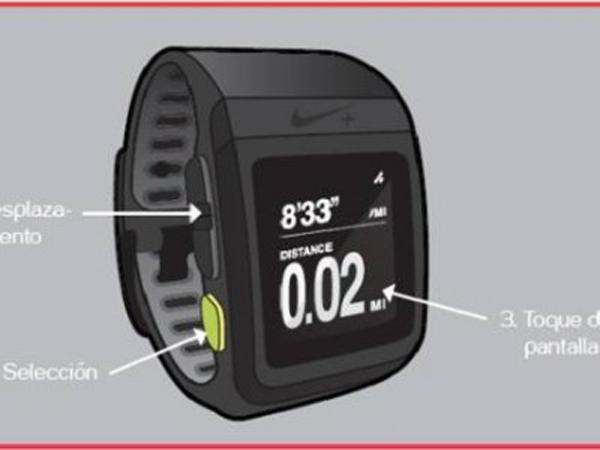 Nike+-Sportwatch-TomTom-Botones