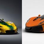 McLaren P1 GTR Vs Spano GTA