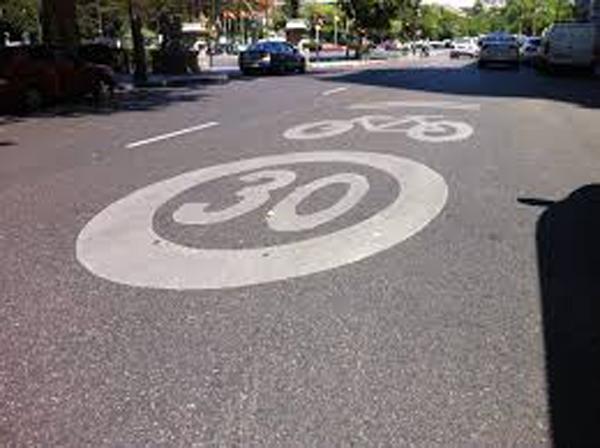 carril bici urbano