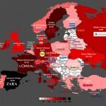 Los países con más multimillonarios de Europa