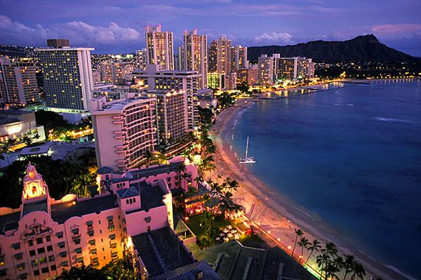 Hawaii-Waikiki-Oahu-USA